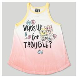 Girls' Despicable Me 3 Dip Dye Tank Top - Coral
