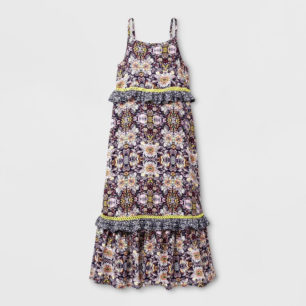 Girls Maxi Dress - Art Class M, Multicolored