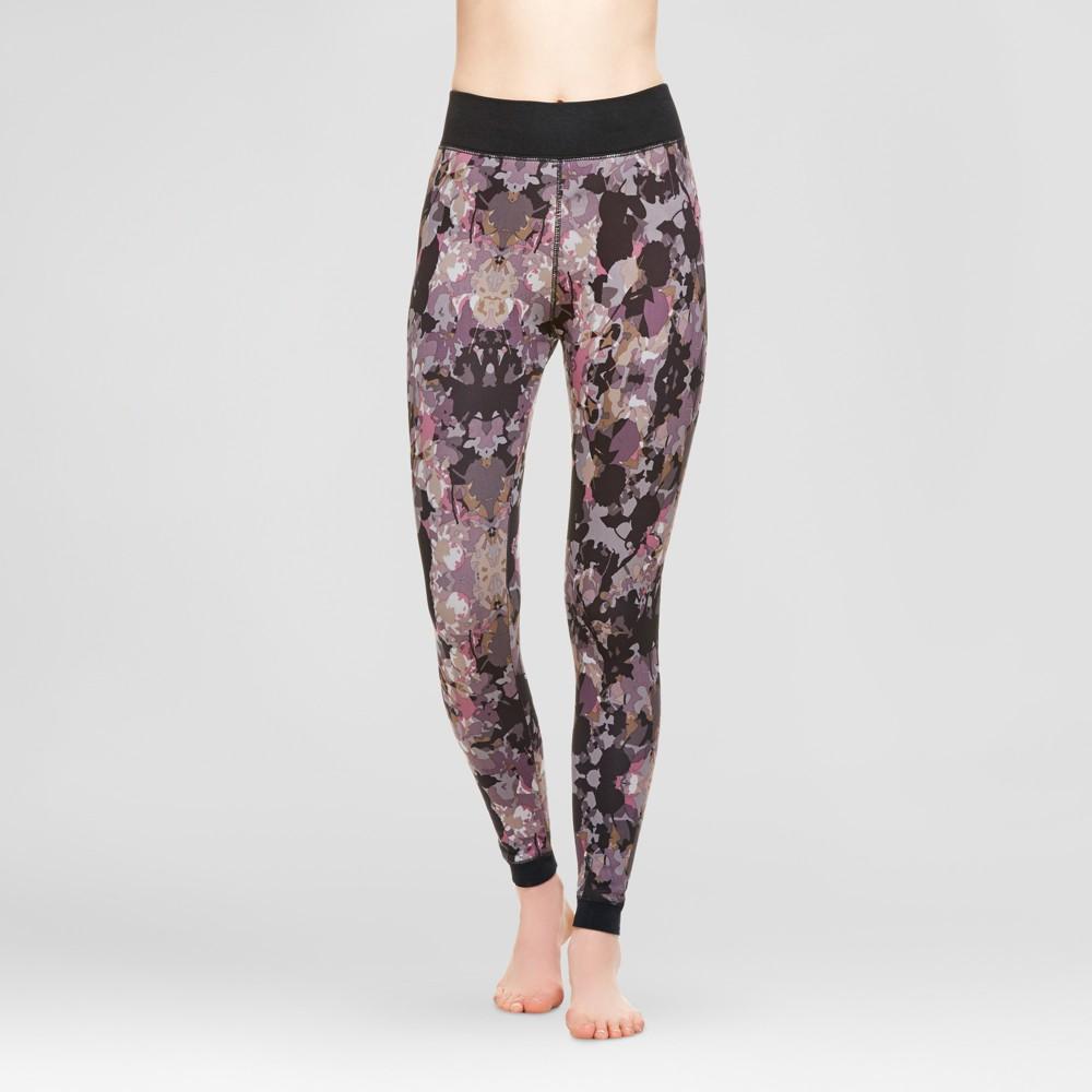 Wander by Hottotties Womens Velvet Leggings - Floral L