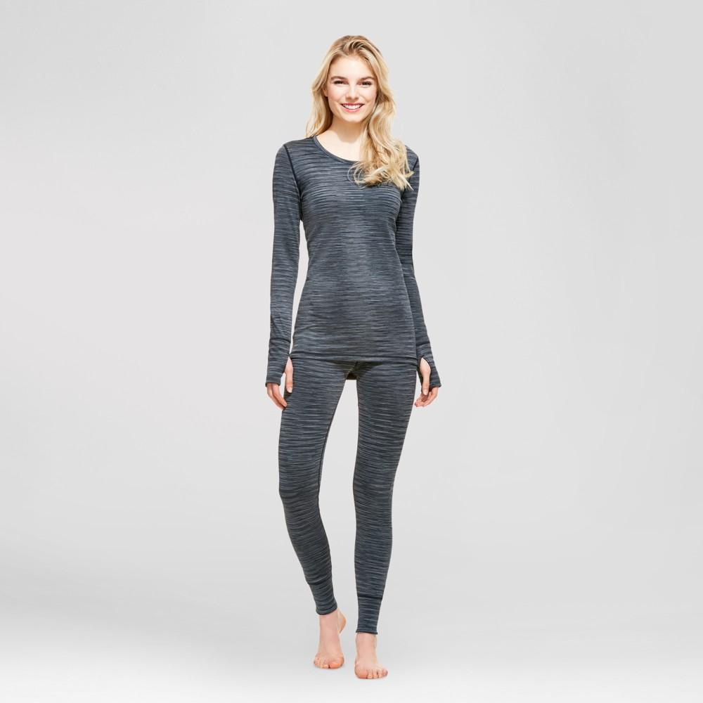 Wander by Hottotties Womens Reversible Tech Fleece Jezebel Top - Black Melange L, Size: XL