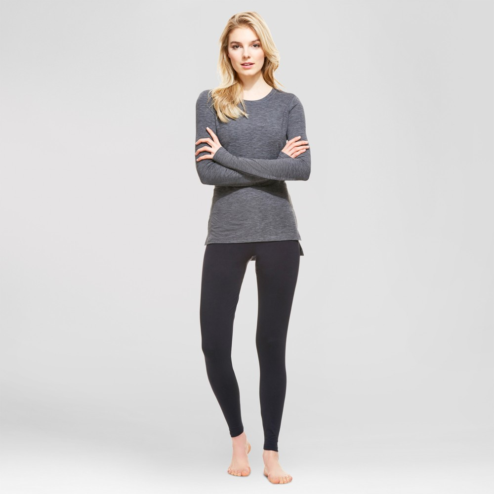 Wander by Hottotties Womens Thermoregulation Jezebel Top - Heather Gray M