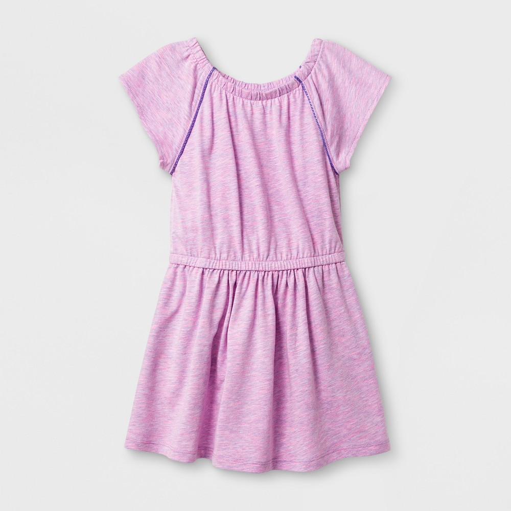 Toddler Girls A Line Dresses - Cat & Jack Verily Iris 2T, Purple