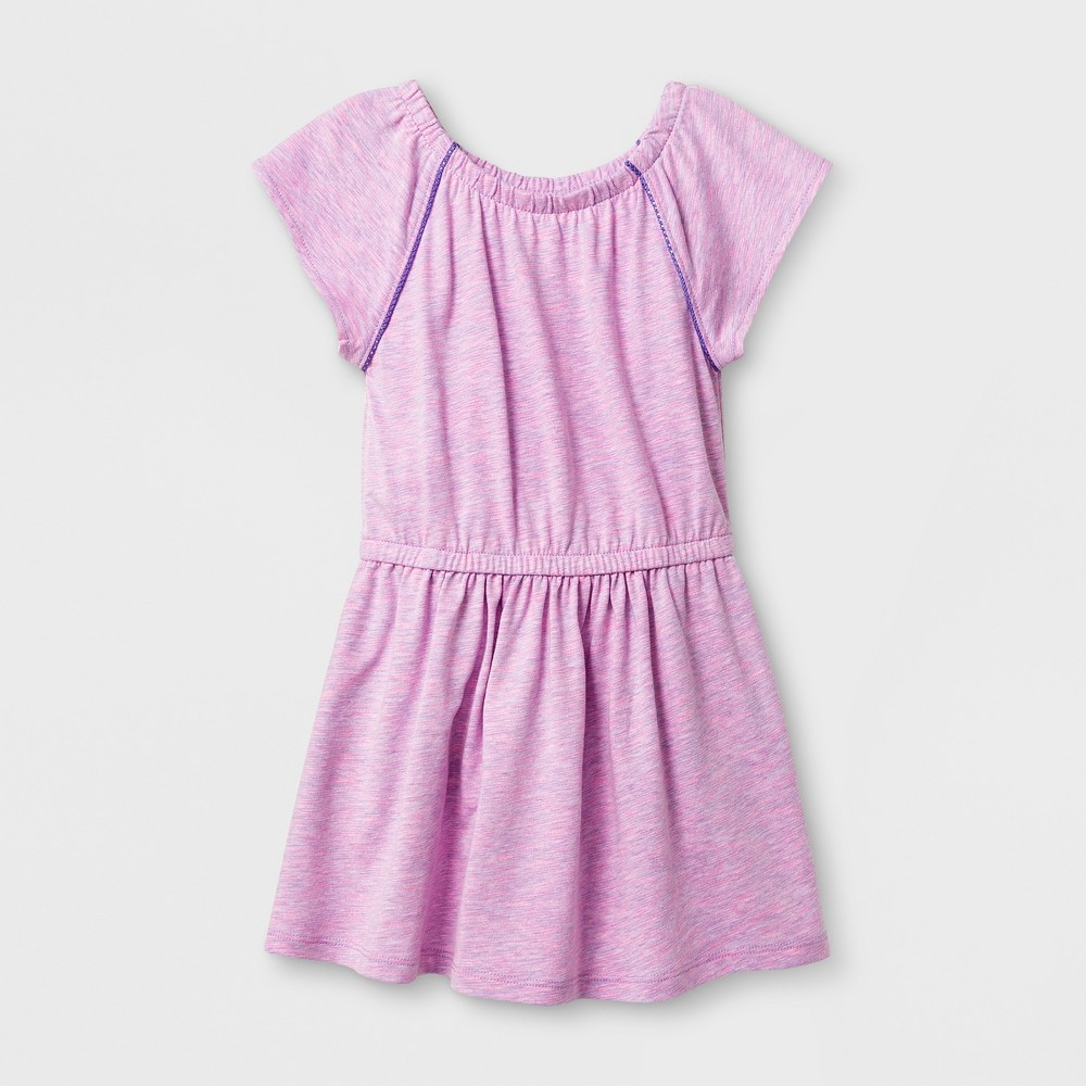 Toddler Girls A Line Dresses - Cat & Jack Verily Iris 3T, Purple