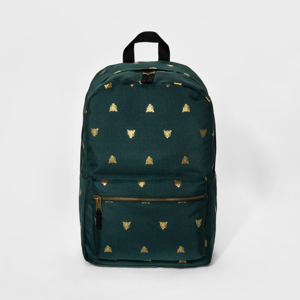 Womens Simple Tiger Print Dome Backpack - Mossimo Supply Co. Green
