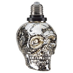 Halloween Skull LED Light Bulb Top Screw  - Hyde and Eek! Boutique™