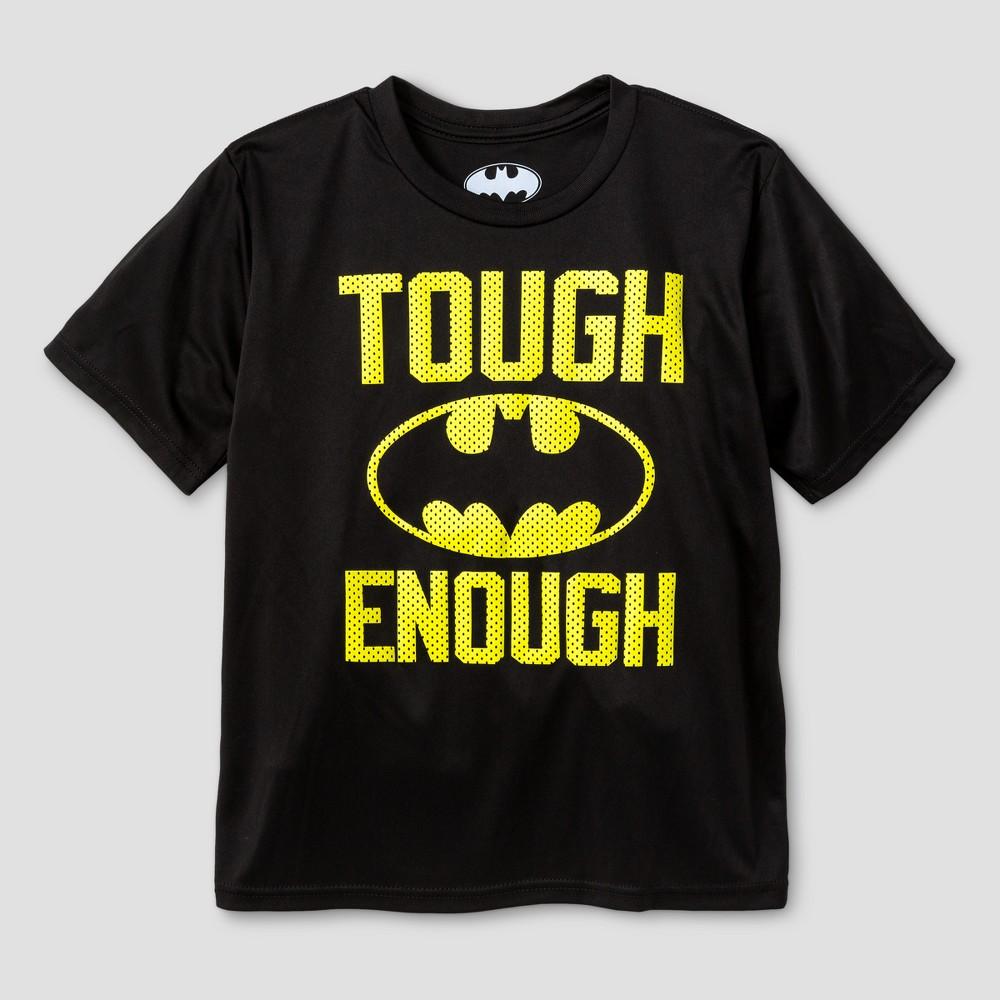 Kids Batman Activewear T-Shirts Black XL, Boys