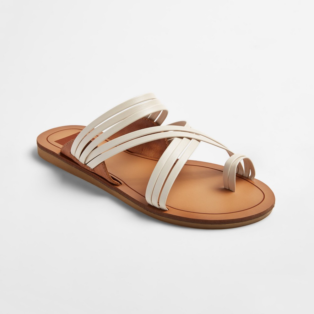 Womens dv Marta Slide Sandals - White 7.5