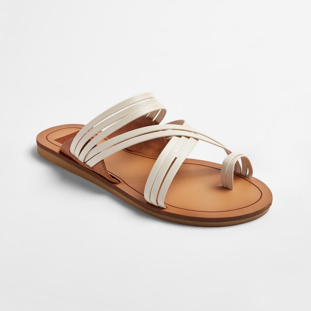 Womens dv Marta Slide Sandals - White 8