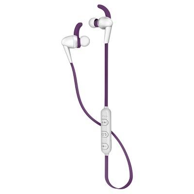 Polaroid Secure Sport Wireless Ear Buds - Purple