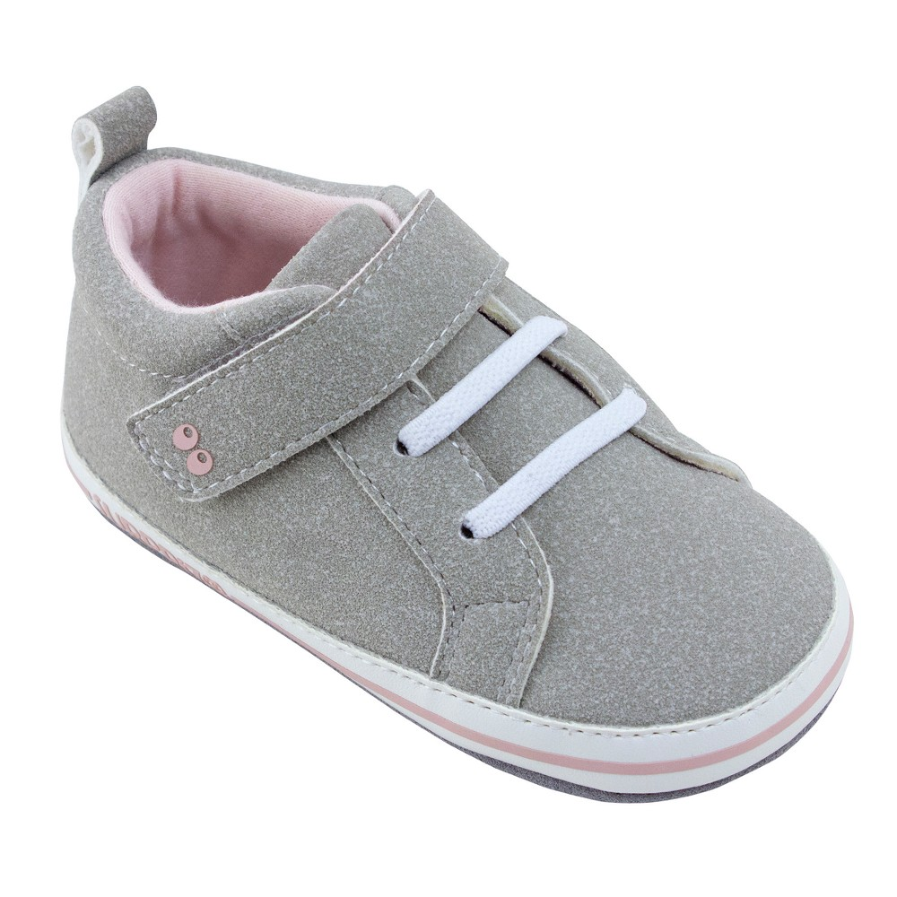 Baby Girls Surprize by Stride Rite Heather Mini Shoes - Gray 18-24M