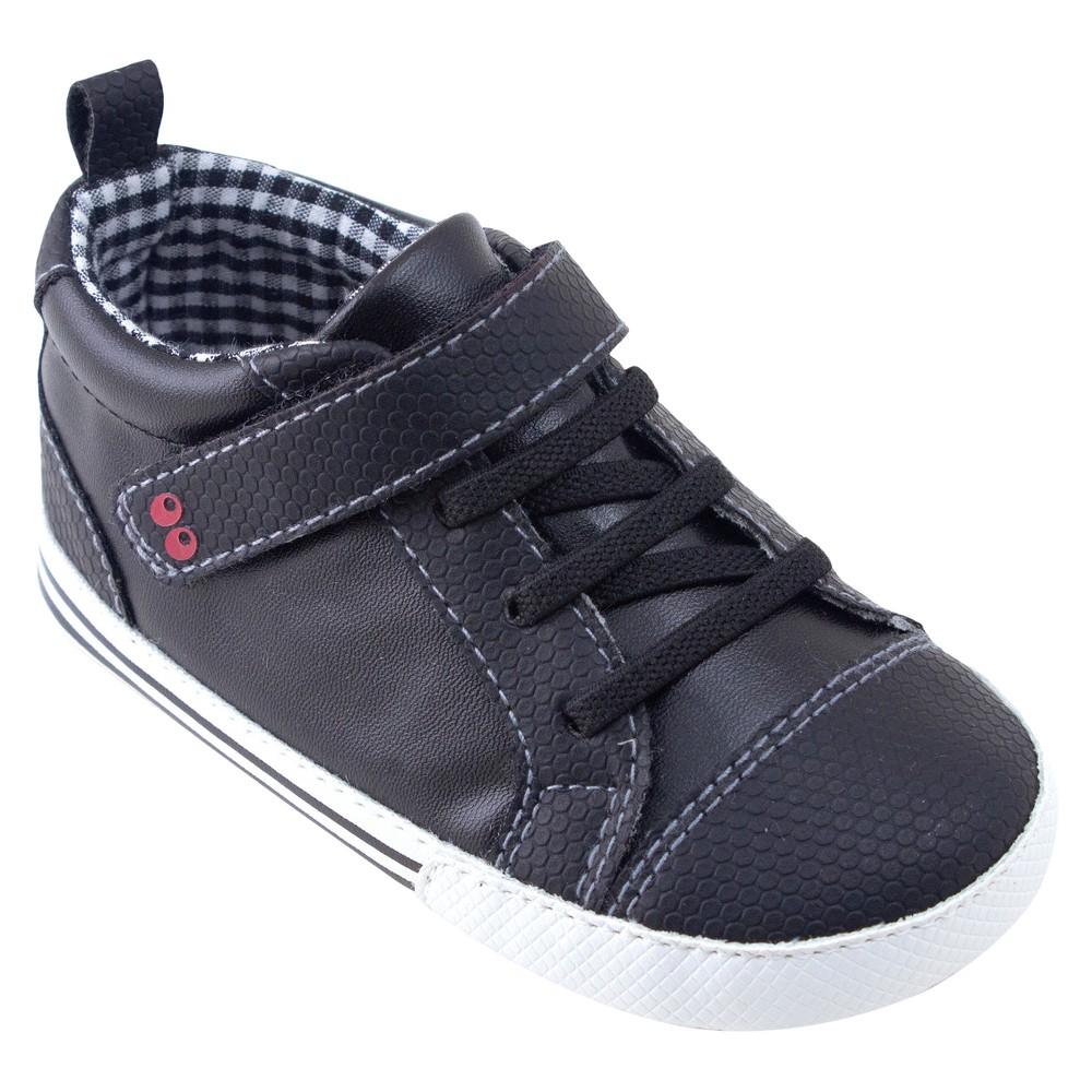 Baby Boys Surprize by Stride Rite Lee Mini Shoes - Black 18-24M