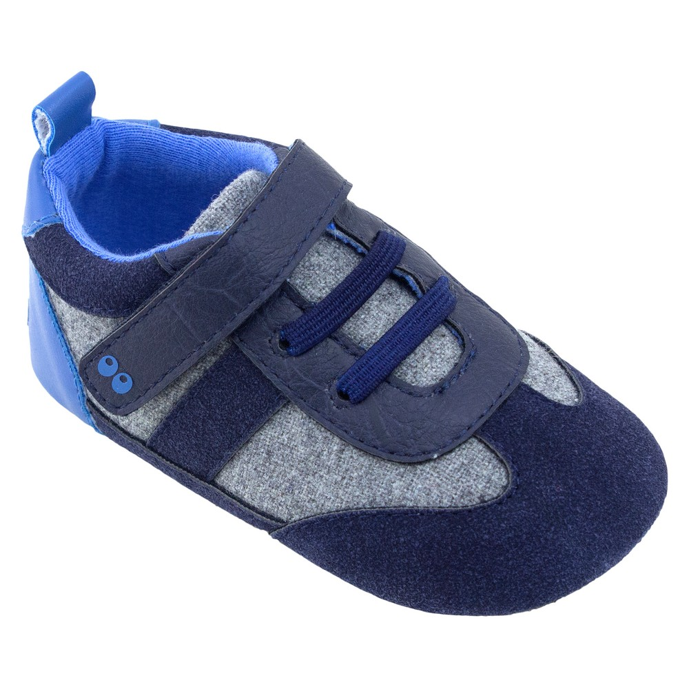 Baby Boys Surprize by Stride Rite William Mini Shoes - Navy (Blue) 12-18M