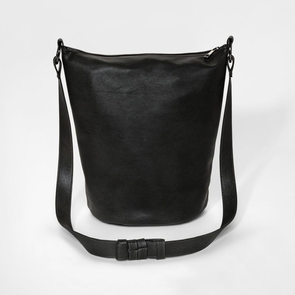 Womens Hobo Bucket Tote Handbag - Mossimo Supply Co. Dark Gray