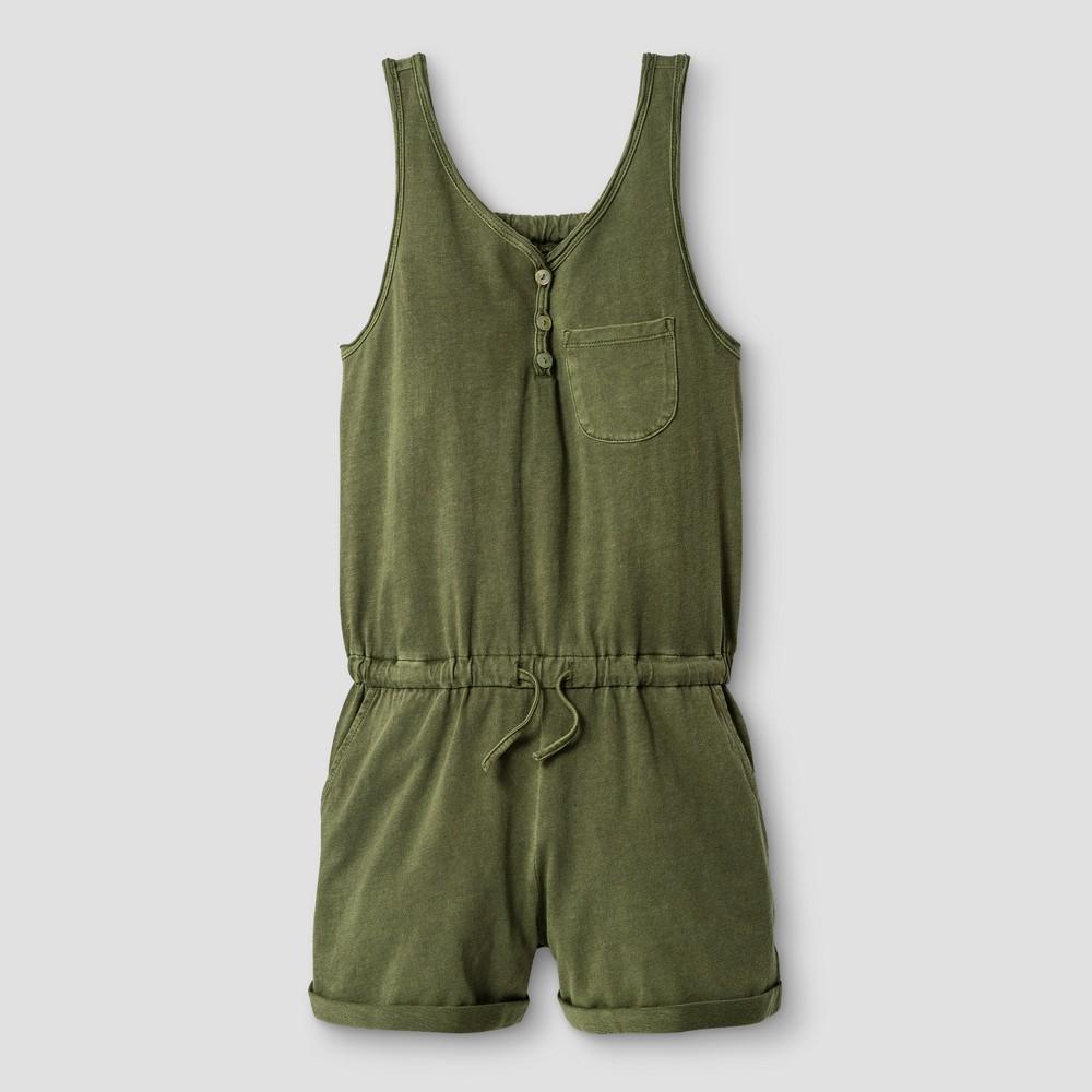 Girls' Jumpsuits - Art Class Moss (Green) S