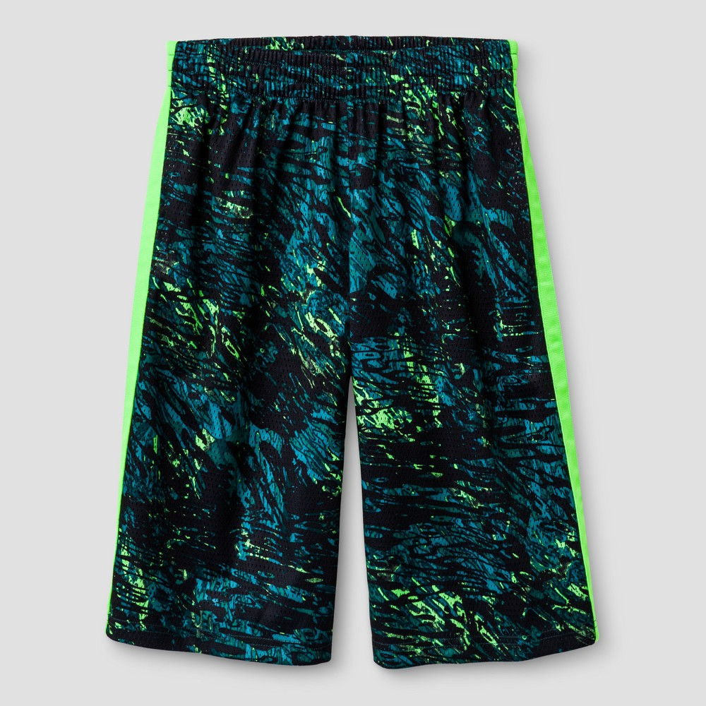 Boys Printed Lacrosse Shorts - C9 Champion Forging Green L