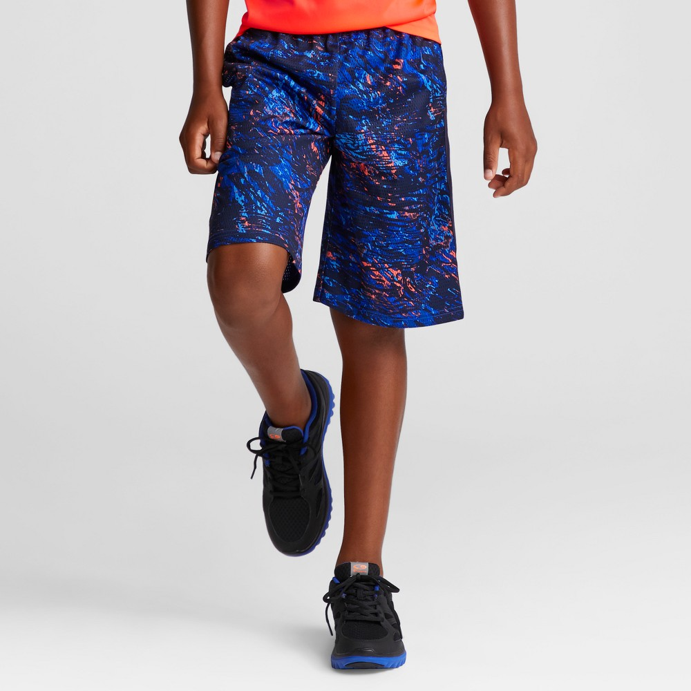 Boys Printed Lacrosse Shorts - C9 Champion Navy (Blue) XL
