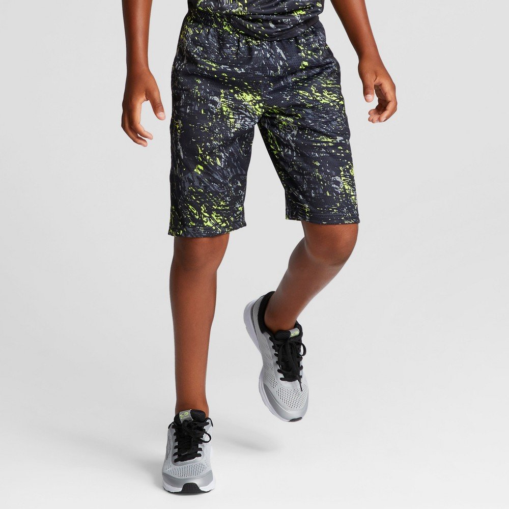 Boys Printed Lacrosse Shorts - C9 Champion Black M