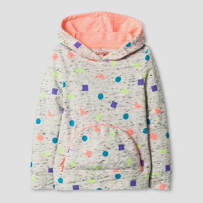 Toddler Girls' Long Sleeve Sweatshirt - Cat & Jack™ Heather Gray 18M