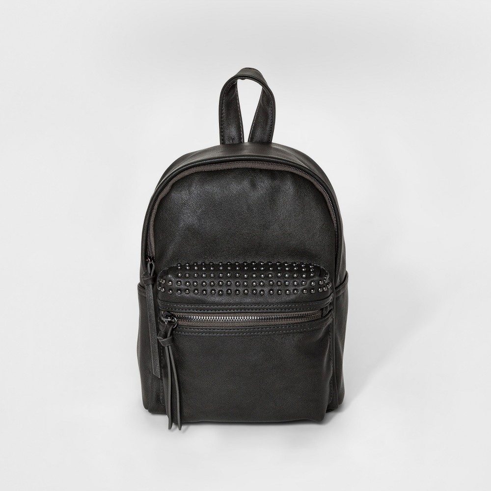 Womens Studded Mini Backpack - Mossimo Supply Co. Gray