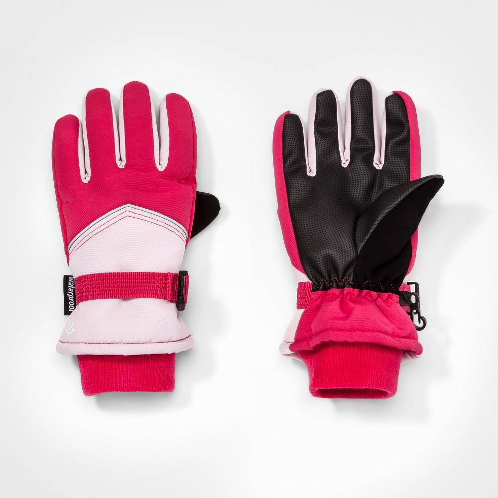 Girls Colorblock Gloves - C9 Champion Pink 8-16