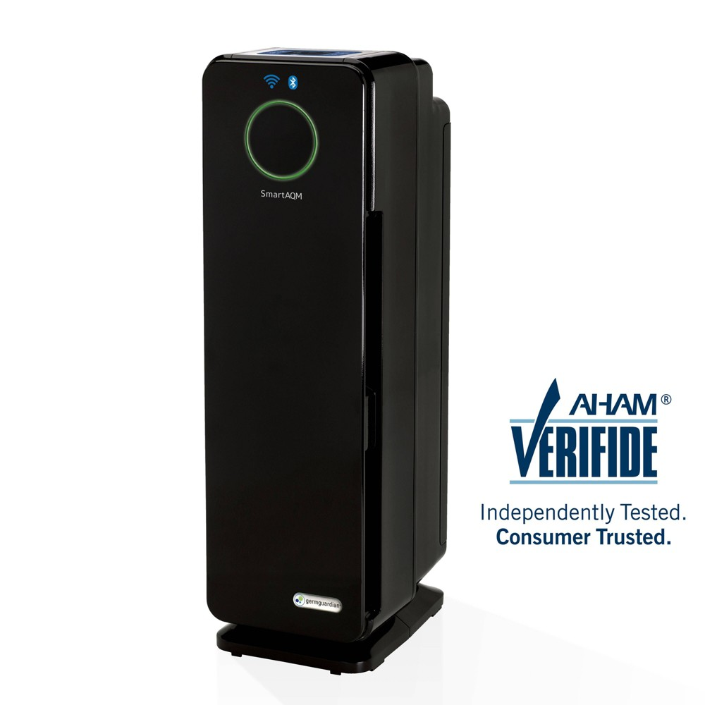 Germ Guardian Smart Elite 4-in-1 True Hepa Air Purifier CDAP4500BCA, Black