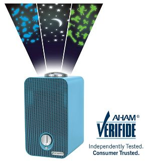 Germ Guardian AC4150BLCA 4-in-1 Night-Night HEPA Air Purifier System with UV Sanitizer, Odor Reduction and projector , 11u0022 Table Top Tower