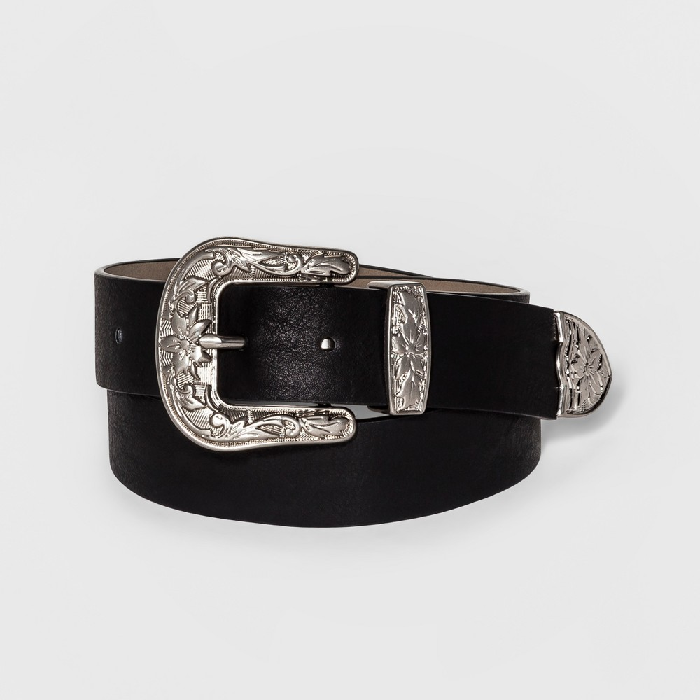 Womens Western Belt - Mossimo Supply Co. Black M