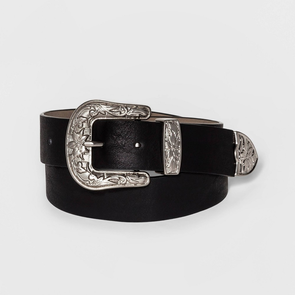Womens Western Belt - Mossimo Supply Co. Black Xxl