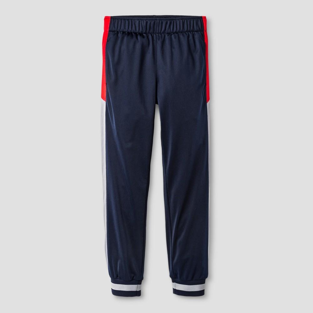 Boys Activewear Pants - Cat & Jack Navy XL Husky, Blue
