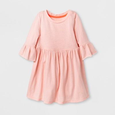 Toddler Girls' A Line Dresses Parlor Pink Cat & Jack™ 12 M