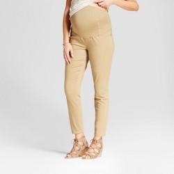 Maternity Crossover Panel® Jeggings - Isabel Maternity™ by Ingrid & Isabel® Khaki