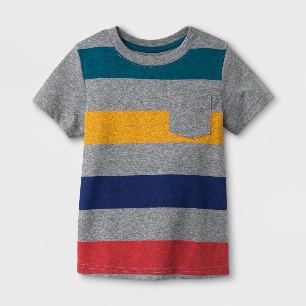 Toddler Boys T-Shirt Cat & Jack- Medium Heather Gray 12 M