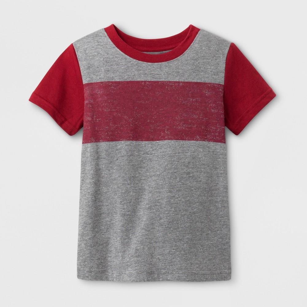 T-Shirt Medium Heather Gray 4T, Toddler Boys