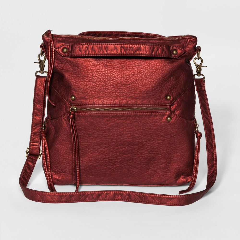 Womens Convertible Tote Handbag - Mossimo Supply Co. Cranberry (Red)