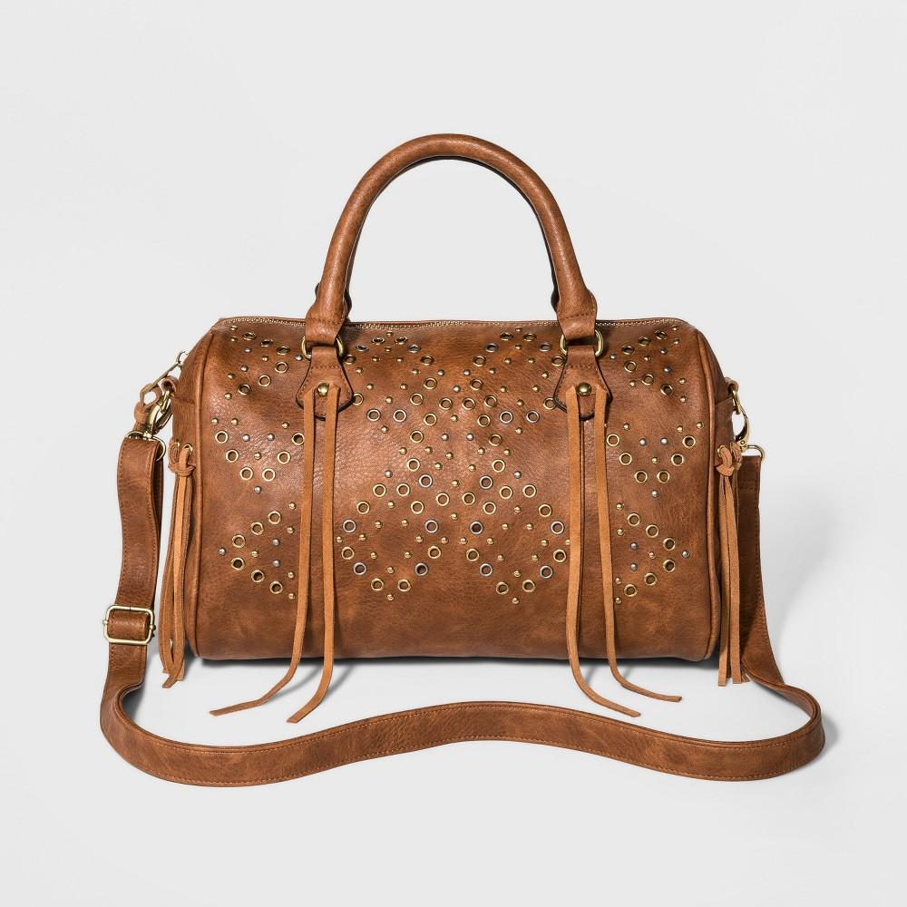 DV Womens Crossbody Handbag - Cognac (Red)