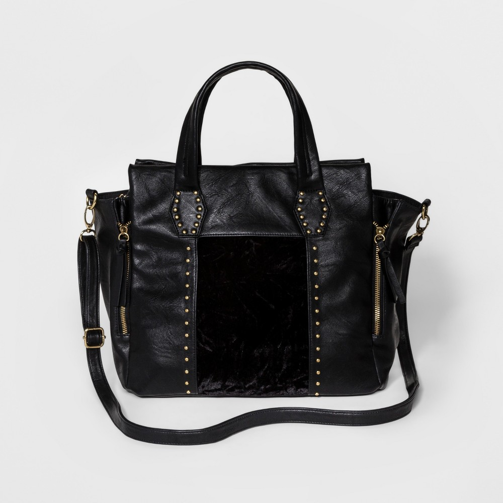 DV Womens Satchel Handbag - Black