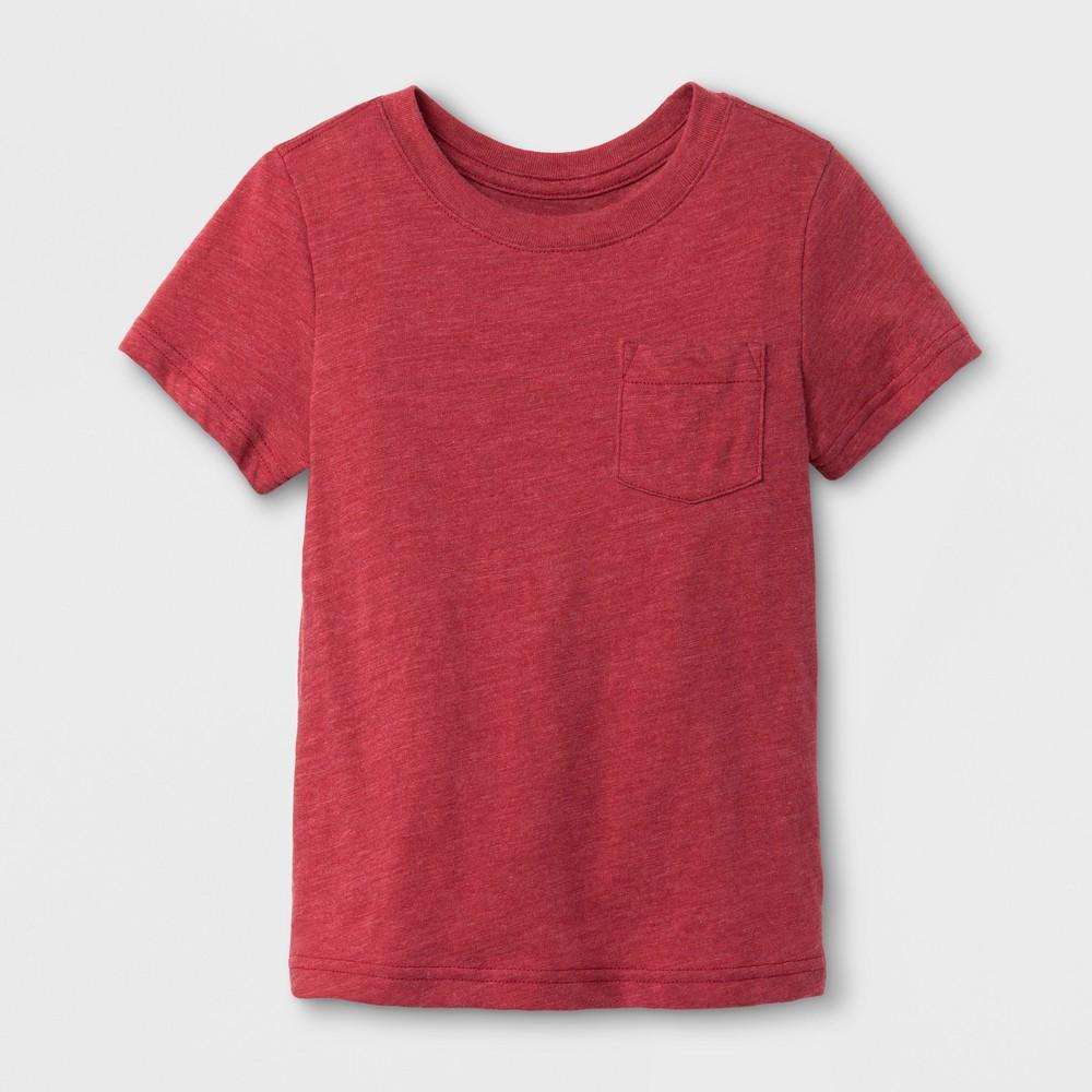 Toddler Boys T-Shirt Cat & Jack- Red Ribbon 12 M
