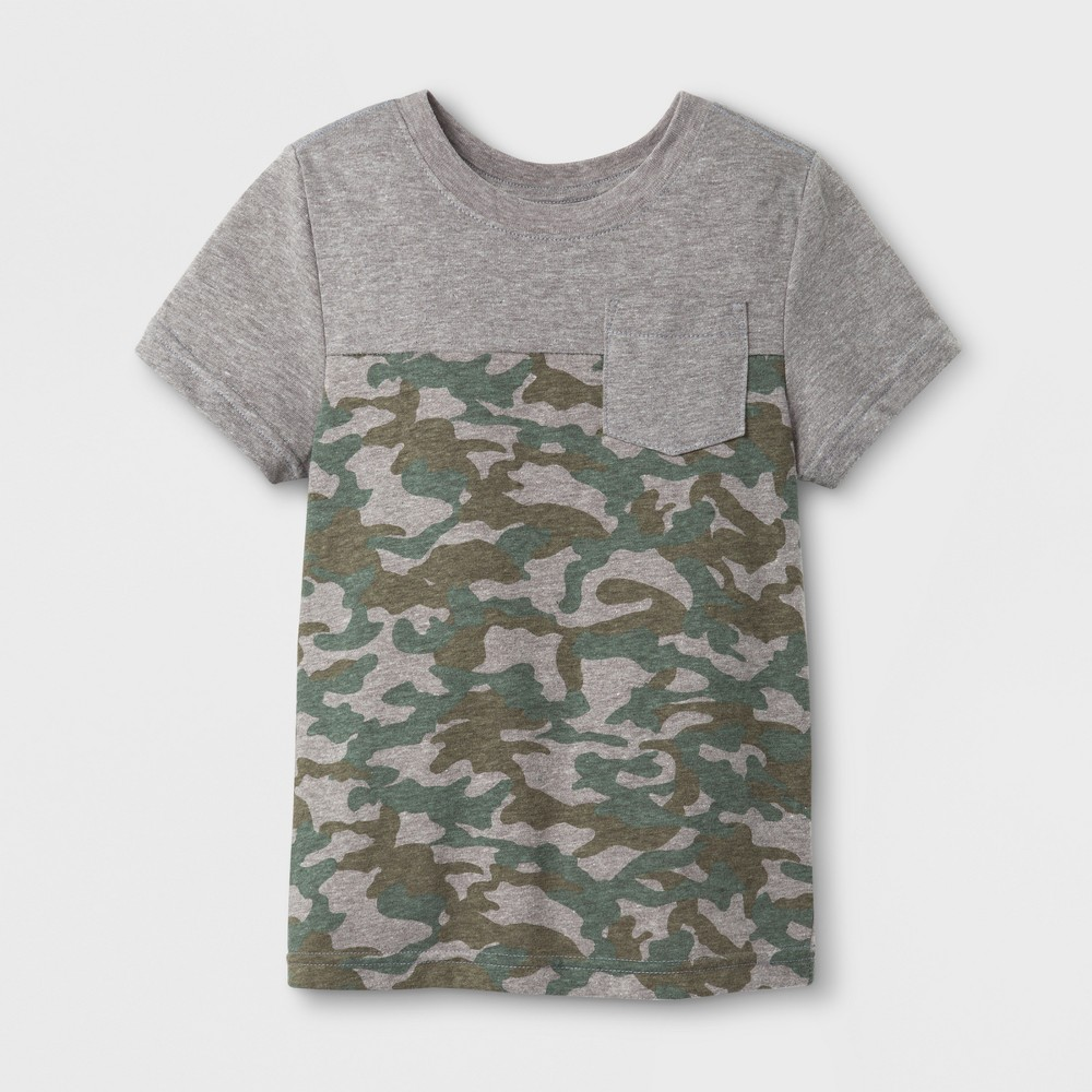 T-Shirt Radiant Gray 4T, Toddler Boys