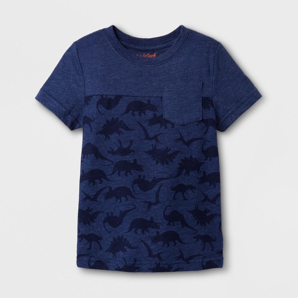T-Shirt Navy 12 M, Toddler Boys, Blue
