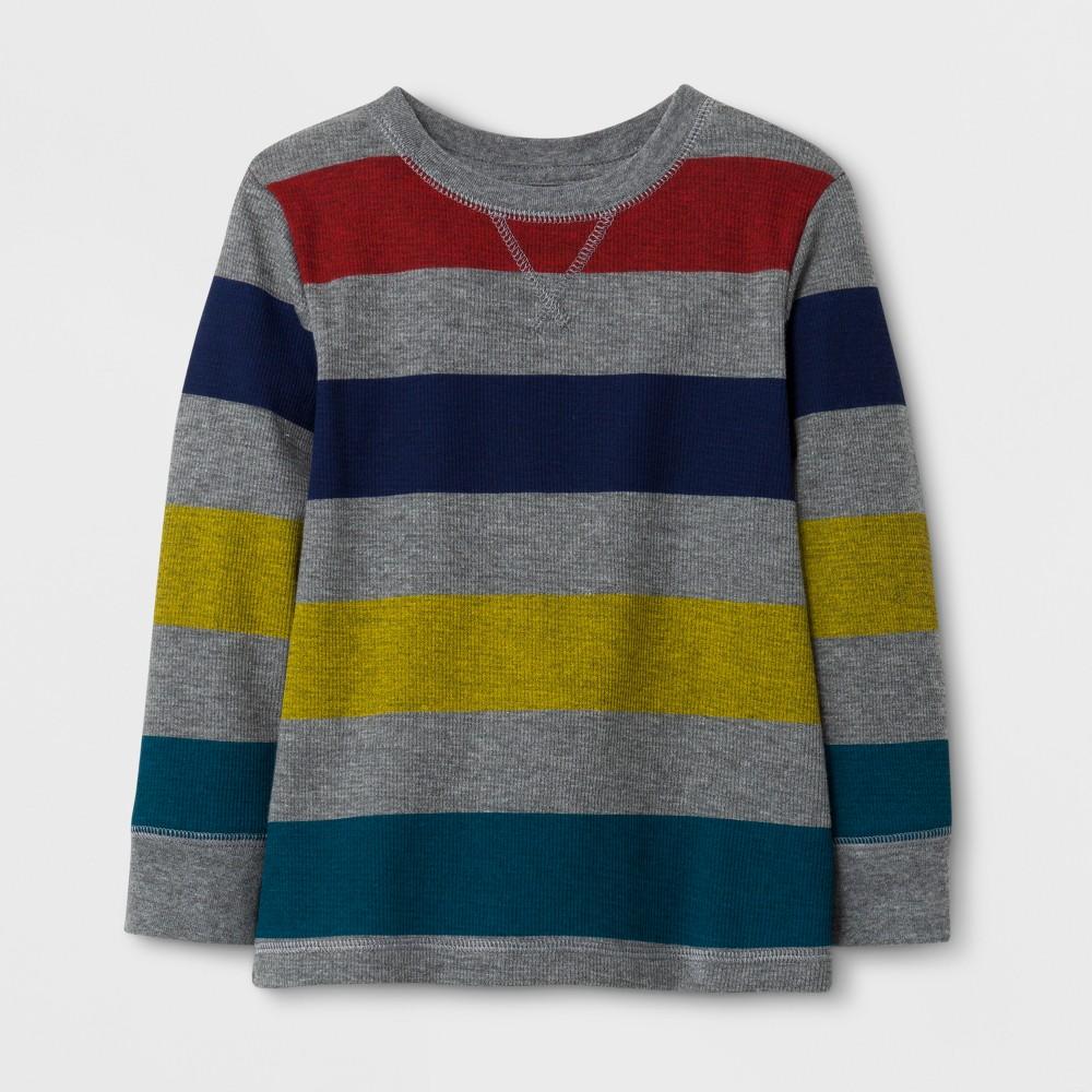 T-Shirt Medium Heather Gray 12 M, Toddler Boys