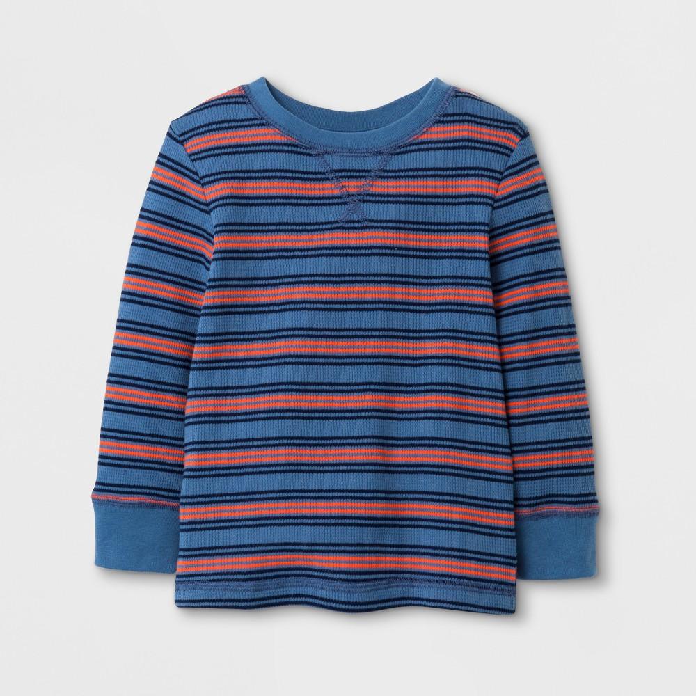 Toddler Boys T-Shirt Cat & Jack Shallow Blue - 5T
