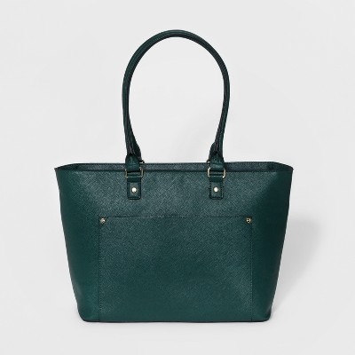 Women's Large Tote Handbag - A New Day™ Teal