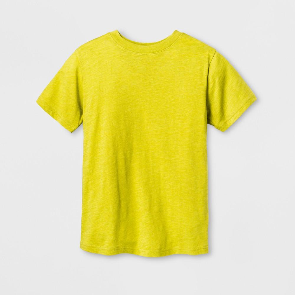 Boys Classic Short Sleeve T-Shirt - Cat & Jack Green XL