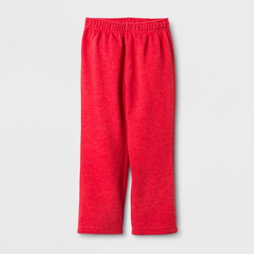 Toddler Boys Lounge Pants Cat & Jack Red 18 M