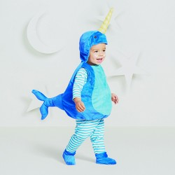 Baby Narwhal Plush Vest Costume - Hyde and Eek! Boutique™