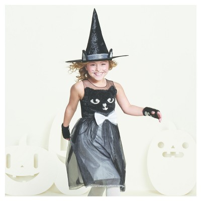 girlsu0027 kitty cat witch costume hyde and eek boutique