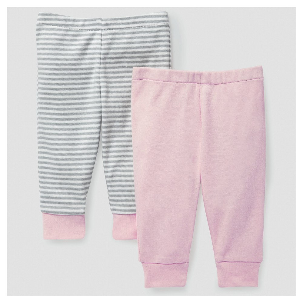 Skip Hop Baby Girls Boho Feathers Pants Set - Pink 3M, Size: 3 M