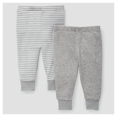 Skip Hop Baby Boho Feathers Pants Set - Gray 9M