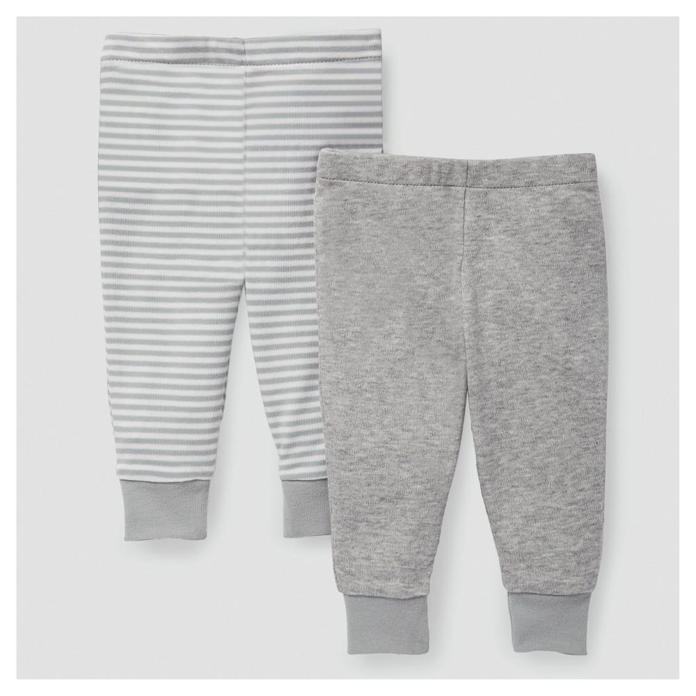 Skip Hop Baby Boho Feathers Pants Set - Gray 9M, Infant Unisex, Size: 9 M