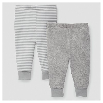 Skip Hop Baby Boho Feathers Pants Set - Gray 6M